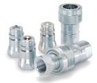 Parker 4000 Series Hydraulic Quick Coupling Female COUPLER (1/2 inch body) 3/4 inch F-NPT steel (4050-5)