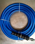 Raptor Blast pressure cleaning hose assembly 3/8 inch X 50 Feet with M NPT X M NPT Swivel & hose guard