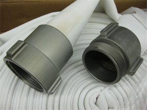 Contractors Double Jacket Mill Hose 1 1 2 Inch X 50 Feet