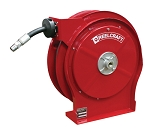 Reelcraft Retractable Hose Reel 1/4 x 35ft, 5000 psi, for Grease service with hose included