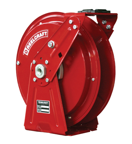 Retractable Hose Reel 1/2 x 50ft, 3250 psi, for Oil service - hose not