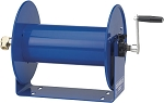 Cox Reels DM Series dolly mount hand crank hose reel for 1/2 inch I.D. (7/8 O.D.) X 225 feet 4000 PSI max. hose