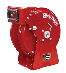 Reelcraft Heavy Duty Spring Retractable Hose Reel 3/8 x 35ft, 5000 psi, for Grease service - hose not included