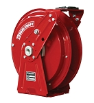 Reelcraft Heavy Duty Spring Retractable Hose Reel 1/4 x 50ft, 5000 psi, for Grease service - hose not included