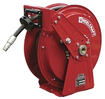 Reelcraft Heavy Duty Spring Retractable Hose Reel 1/4 x 50ft, 5000 psi, for Grease service with hose included