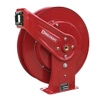Pressure cleaning hose reel for 3/8 inch X 50 Feet - spring retractable