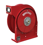 Reelcraft Compact Spring Retractable Hose Reel 1/2 x 25ft, 500 psi, for Air & Water service - hose not included