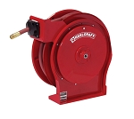 Reelcraft Compact Spring Retractable Hose Reel 1/2 x 35ft, 300 psi, for Air & Water service with hose included