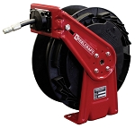 Reelcraft Lightweight Spring Retractable Hose Reel 1/4 x 35ft, 5000 psi, for Grease service with hose included