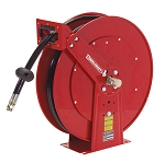 Reelcraft Spring Retractable Hose Reel 3/8 x 50ft, 2000 psi, for use with Twin Line Hydraulic Hose - hose included