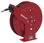 Hose reel for DEF Diesel exhaust fluid 3/4 inch X 25 Feet - spring retractable - hose included