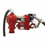 Fill-Rite FR1210G 12 Volt DC Rotary Vane Pump for fuel or oil - 3/4 inch