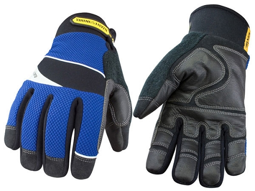 Waterproof winter cut resistant work gloves