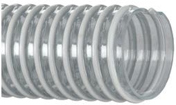 Kanaflex 100 CL 1-1/2 inch water suction hose corrugated clear pvc
