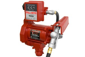 Fill-Rite FR701V Utility Rotary Vane Pump for fuel or oil - electric with gallon meter