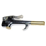 Amflo blow gun with safety venturi tip
