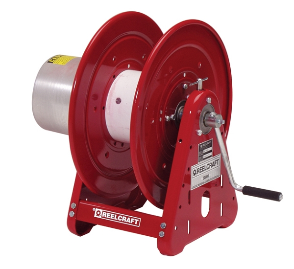 Cable Reels Without Cable : Reelcraft cea hand crank welding cable reel
