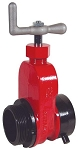 Hydrant Gate Valve Aluminum (Global) Single 2½ inch female NST (NH) x 2½ inch male NST (NH)