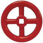 Hydrant Gate Valve brass HGVW250F Replacement Handwheel red