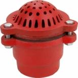 Dixon 4 inch Cast iron Foot Valve for water pumps DFVS40