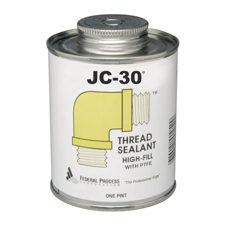 Gasoila JC-30 High-Fill Thread sealant with PTFE one quarter pint with  brush in can JC04