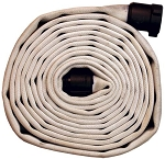 MSHA Approved Mine Fire Hose 500# Single Jacket 1-1/2 inch X 50 feet with M & F NPSH hose ends