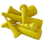 Yelloc Spill Prevention Service Plug Standard Size 10 piece package