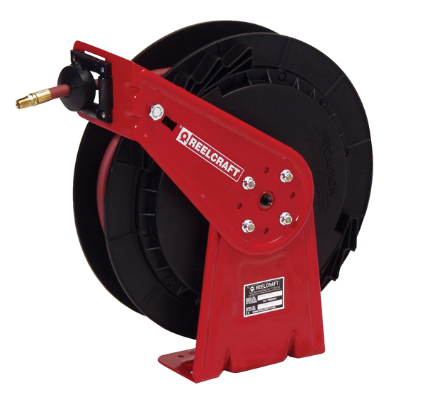 Reelcraft RT635-OLP Retractable Hose Reel 3/8 x 35ft, 300 psi, for Air