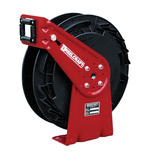 Hose Reel 3/8 x 50ft, 300 psi, for Air & Water service - hose not