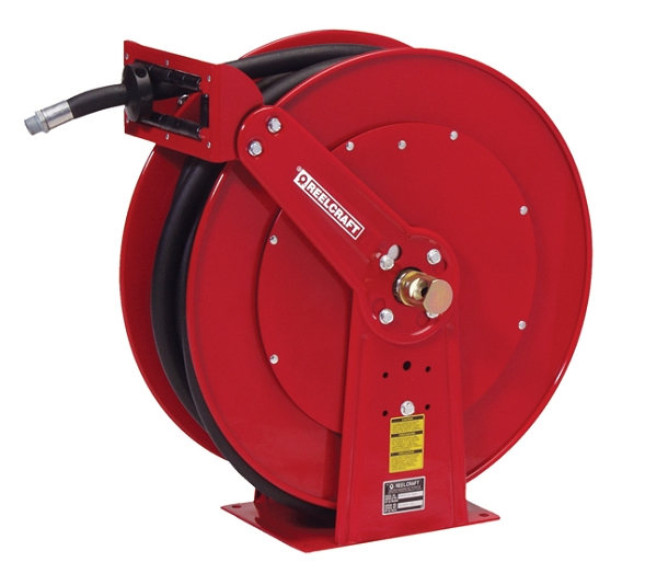 Hose Reel 1 x 50ft, 250 psi, for use with Fuel - hose included
