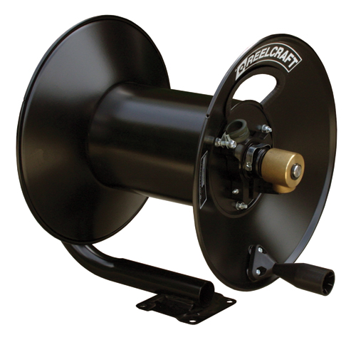 Hose Reel 3/8 x 100ft, 250 psi, for Air or Water service - hose not