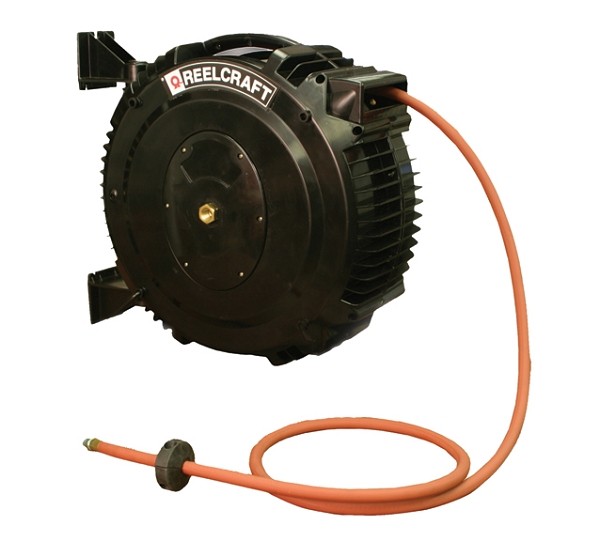 Reelcraft Poly SG Retractable Hose Reel 1/2 x 50ft, 232 psi, for Air
