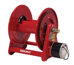 Reelcraft Motor Driven Hose Reel 1/2 x 325ft, 1000 psi, Without Hose, Electric Motor
