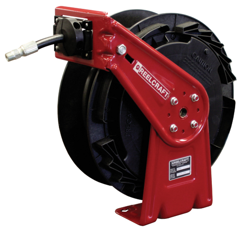 Hose Reel 3/8 x 50ft, 4000 psi, for Grease service with hose included