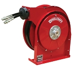 Reelcraft Retractable Hose Reel 1/4 x 25ft, 2000 psi, for use with Twin Line Hydraulic Hose - hose included