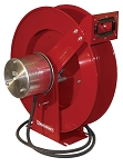 Reelcraft Retractable Welding Cable Reel #1~2/0 x 75ft, 400 AMP, Arc Weld Without Cable