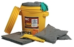Portable Spill Kit for oil, water based liquid or chemical spills - 15 gallon absorbtion