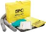Portable Spill Kit for oil, water based liquid or chemical spills - 5 gallon absorbtion