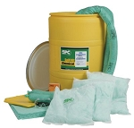 Drum Spill Control Kit for oil or petroleum based spills - 38 gallon absorbtion
