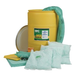 Spill control safety supplies