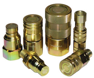 Hydraulic quick-couplings