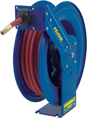 Diesel Exhaust Fluid >> Ez Coil Sh Series Hose Reel For Def Diesel Exhaust Fluid With 3 4 Inch X 50 Feet Of Def Hose Included