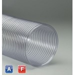 Flexadux PV-ADC Flexible duct hose for air blowers with FDA approved materials