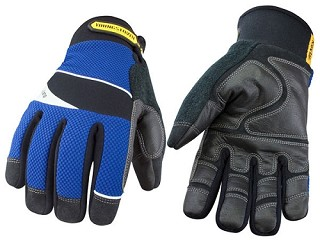 Cut Resistant Waterproof Winter Gloves lined with Kevlar - XL